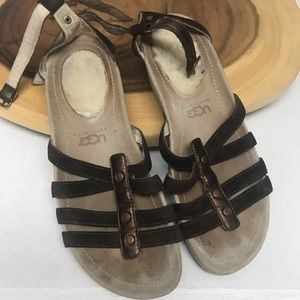 UGG Strappy  Leather Sandals